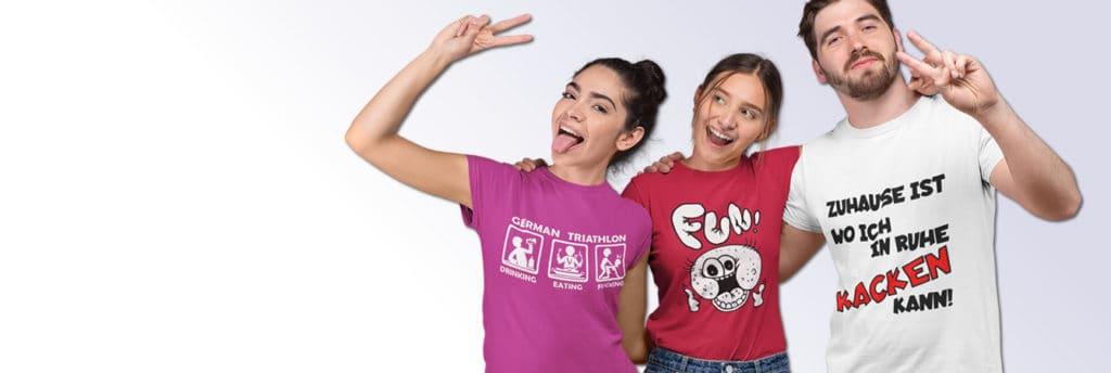 promo code c2618 8639b Fun T Shirt Druck - lustige FunShirts bedrucken bei Fun ...